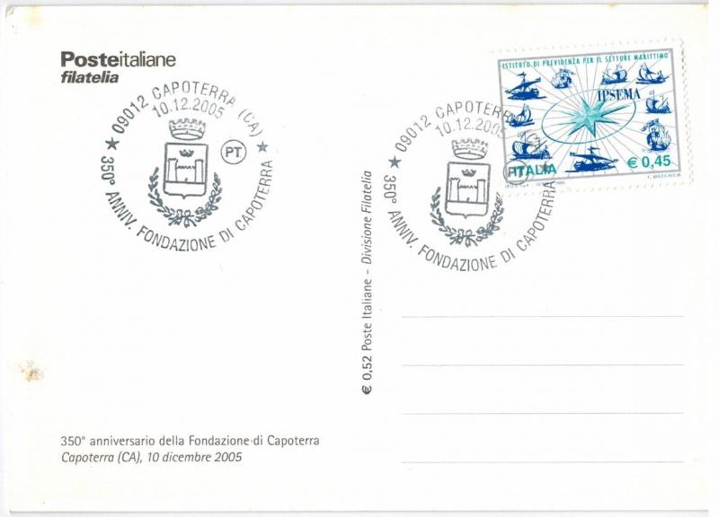 350° anniversario della Fondazione di Capoterra - 10 dicembre 2005