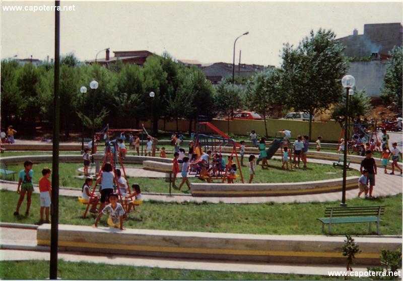 Capoterra - Piazza Liori, Parco giochi