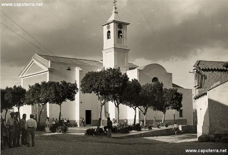 Capoterra - Chiesa Parrocchiale di S. Efisio anni '60