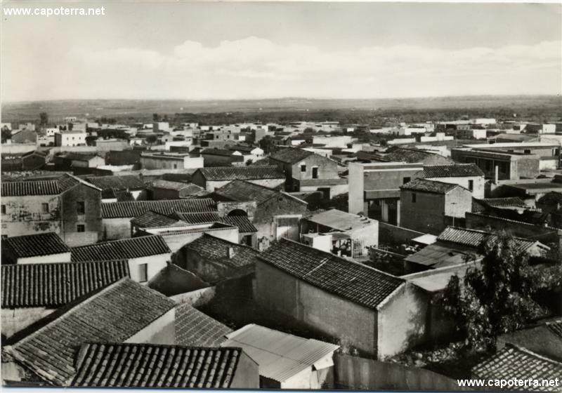 Capoterra - Scorcio panoramico anni '60
