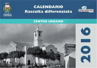 Calendario Capoterra raccolta differenziata 2016