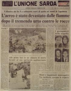 Unione Sarda del 15 settembre 1979
