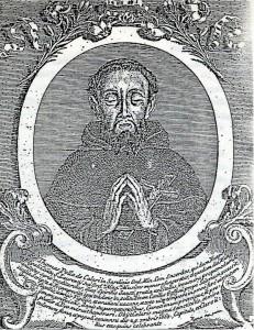 Antica incisione raffigurante il Venerabile fra' Tommaso Polla