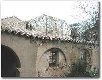L'antica facciata romanica della chiesa