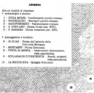 Località di interesse archeologico, storico, paesaggistico e turistico