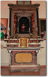 L'altare della chiesa di San Girolamo