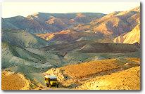 Eremitaggio nel deserto di Giuda, in Palestina