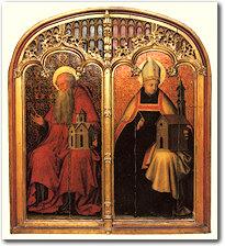San Girolamo e Sant'Agostino, ispiratori delle congregazioni religiose girolamite