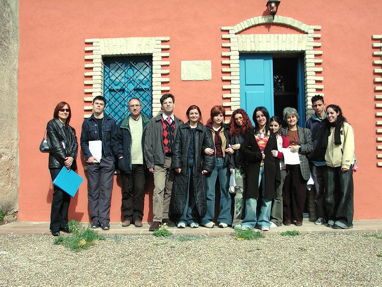 Il gruppo dei partecipanti all'iniziativa - ISIS L. Da Vinci Capoterra
